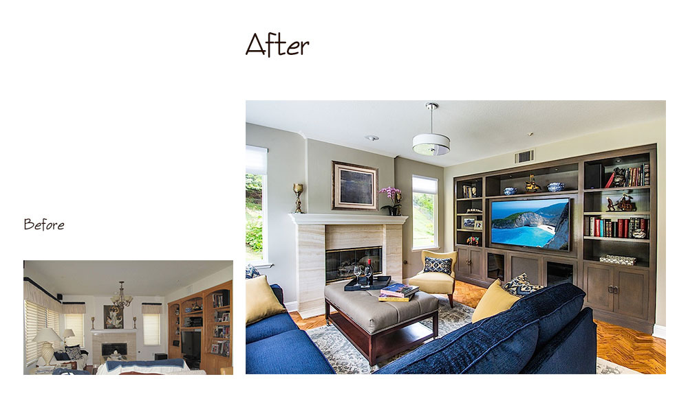Encino A Before and After