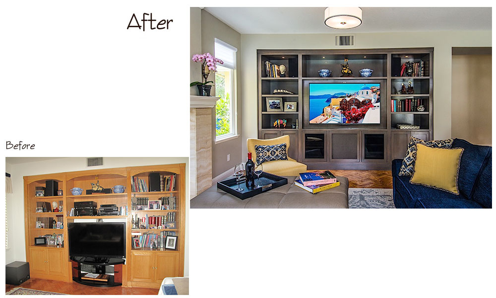 Encino Media Center Before & After