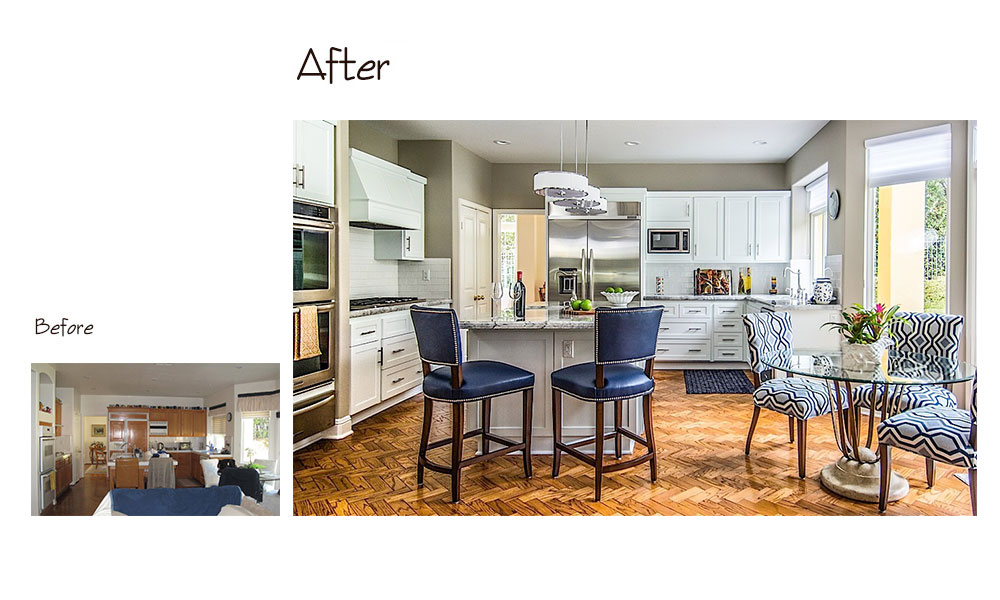 Encino Kitchen Before & After